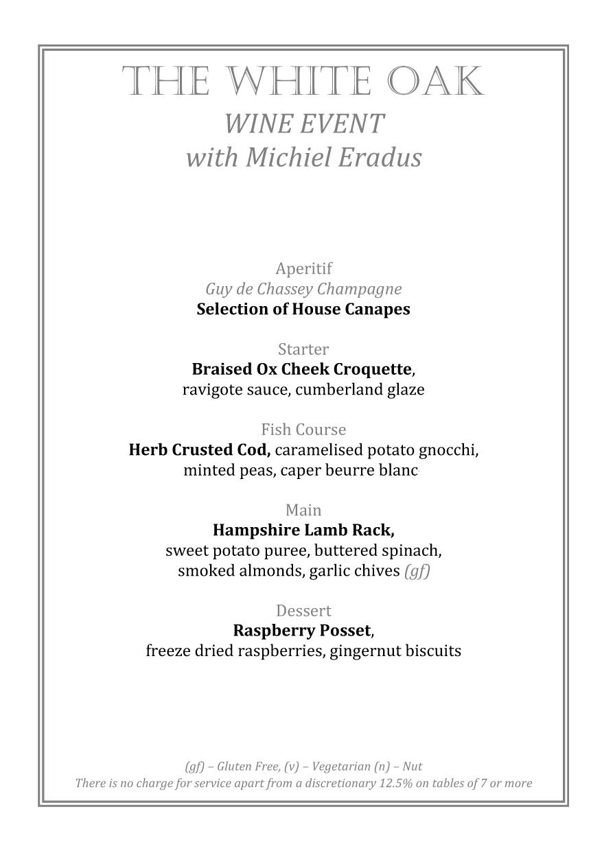TWO Eradus Wine Dinner 18